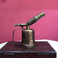 Antigüedades: ANTIGUO SOPLETE DE BRONCE RARO. VER FOTOS. Lote 288885678