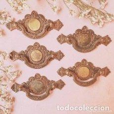 Antigüedades: TIRADORES CLASICOS PRECIOSOS (PRECIO 1 UNIDAD) ANTIQUE UNIQUE. Lote 288887068