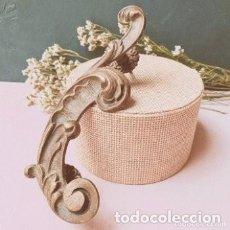 Antigüedades: GRAN MANETA TIRADOR ANTIGUO DE BRONCE MACIZO ANTIQUE UNIQUE. Lote 288887118