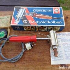 Antigüedades: SOLDADOR ELECTRICO, BARTHE-DRESDENL, ATIGUO ALEMAN-DDR. Lote 288968478