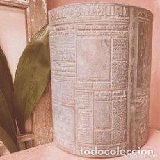 Antigüedades: ENORME PLACA INDUSTRIAL DE IMPRENTA DE PERIÓDICO. Lote 288971363