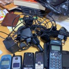 Teléfonos: LOTE DE TELÉFONOS Y CARGADORES. LOS DE LA FOTO. Lote 288991148