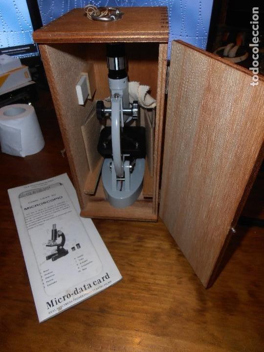 MICROSCOPIO C.O.C. ZOOM 40X-900X. JAPAN (Antigüedades - Técnicas - Instrumentos Ópticos - Microscopios Antiguos)
