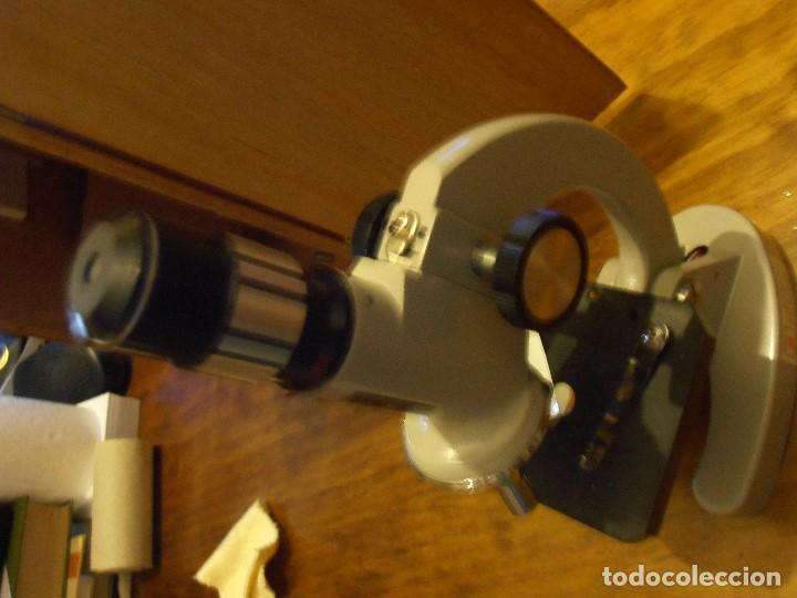 Antigüedades: MICROSCOPIO C.O.C. ZOOM 40X-900X. JAPAN - Foto 10 - 289287738