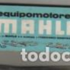 Antigüedades: ESPECIE DE REGLA CÁLCULO CALCULADORA PUBLIC. EQUIPOMOTORES MAHLE ALEMANIA. Lote 289294633