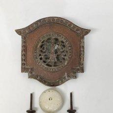 Antigüedades: ANTIGUA MIRILLA, TIRADOR, TIMBRE - PARA PUERTA DE ENTRADA - PRINCIPIOS S. XX. Lote 289326603