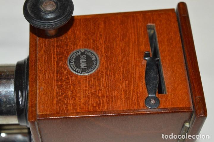 Antigüedades: Visor UNIS-FRANCE - Manuel Quintas - PHOTOS MADRID + Caja con cristales/vistas - Buen estado ¡Mira! - Foto 5 - 289333693