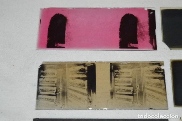 Antigüedades: Visor UNIS-FRANCE - Manuel Quintas - PHOTOS MADRID + Caja con cristales/vistas - Buen estado ¡Mira! - Foto 20 - 289333693
