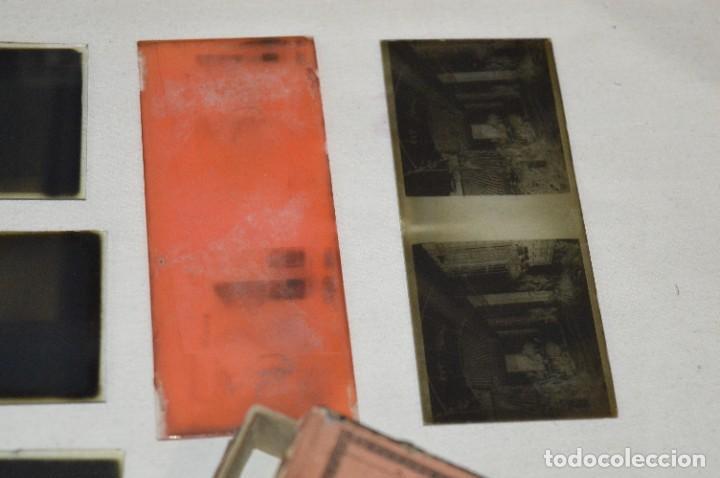 Antigüedades: Visor UNIS-FRANCE - Manuel Quintas - PHOTOS MADRID + Caja con cristales/vistas - Buen estado ¡Mira! - Foto 22 - 289333693