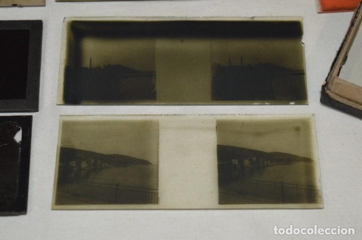 Antigüedades: Visor UNIS-FRANCE - Manuel Quintas - PHOTOS MADRID + Caja con cristales/vistas - Buen estado ¡Mira! - Foto 24 - 289333693