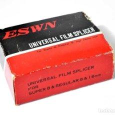 Antigüedades: ESWN UNIVERSAL FILM SPLICER. CORTADORA Y EMPALMADORA DE PELÍCULAS. Lote 289341133