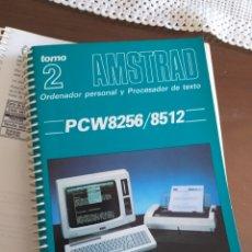 Antigüedades: AMSTRAD. 2 MANUALES DE INSTRUCCIONES. Lote 289446388