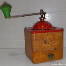 Antigüedades: MOLINILLO DE CAFE MARCA ELMA. Lote 289547223