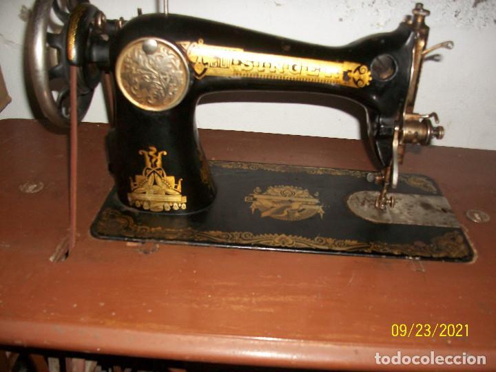 ANTIGUA MAQUINA DE COSER SINGER-COMPLETA-AÑO 1926 (Antigüedades - Técnicas - Máquinas de Coser Antiguas - Singer)
