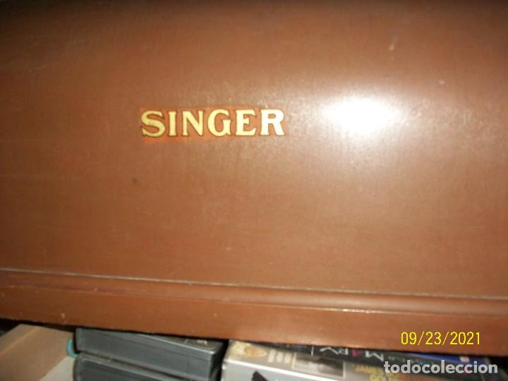 Antigüedades: ANTIGUA MAQUINA DE COSER SINGER-COMPLETA-AÑO 1926 - Foto 11 - 289562618