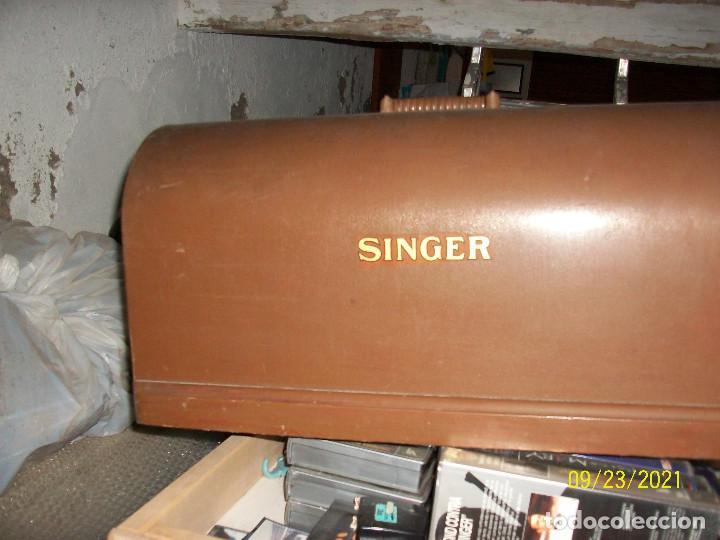 Antigüedades: ANTIGUA MAQUINA DE COSER SINGER-COMPLETA-AÑO 1926 - Foto 12 - 289562618