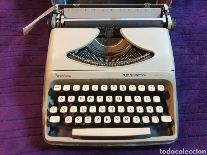 ANTIGUA MAQUINA ESCRIBIR REMINGTON ENVOY (Antigüedades - Técnicas - Máquinas de Escribir Antiguas - Remington)