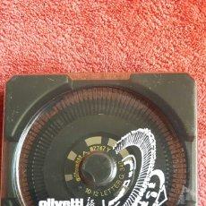 Antigüedades: MARGARITA OLIVETTI 10 - 12 LETTER G 340. Lote 289677308