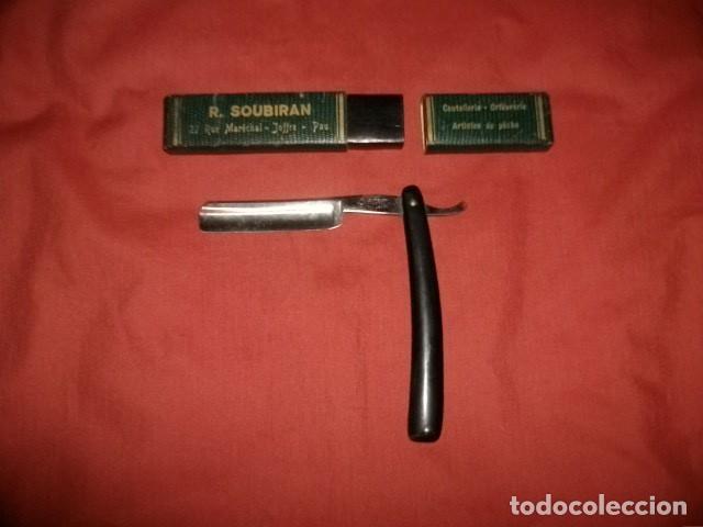 NAVAJA BARBERA FRANCESA LE GRELOT HOSPITAL (Antigüedades - Técnicas - Barbería - Navajas Antiguas)