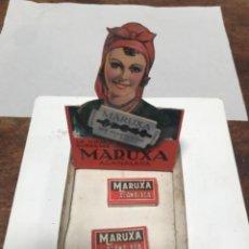 Antigüedades: HOJAS DE AFEITAR MARUXA. Lote 289717703