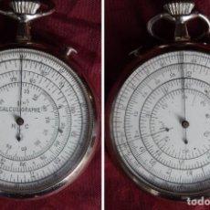Antigüedades: CALCULIGRAPHE HC SYSTEM BOUCHER 1878 HENRI CHATELAIN REGLA DE CALCULO CIRCULAR. Lote 289794573