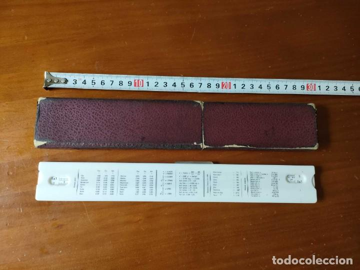 Antigüedades: REGLA DE CALCULO GRAPHOPLEX CON SU ESTUCHE - RAHPOPLEX CALCULADORA MADE IN FRANCE REGLE A CALCUL SLI - Foto 28 - 289848298