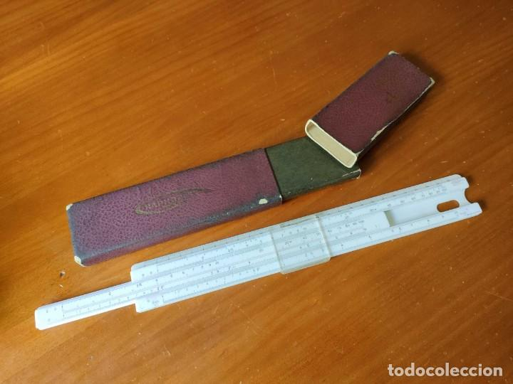 Antigüedades: REGLA DE CALCULO GRAPHOPLEX CON SU ESTUCHE - RAHPOPLEX CALCULADORA MADE IN FRANCE REGLE A CALCUL SLI - Foto 51 - 289848298