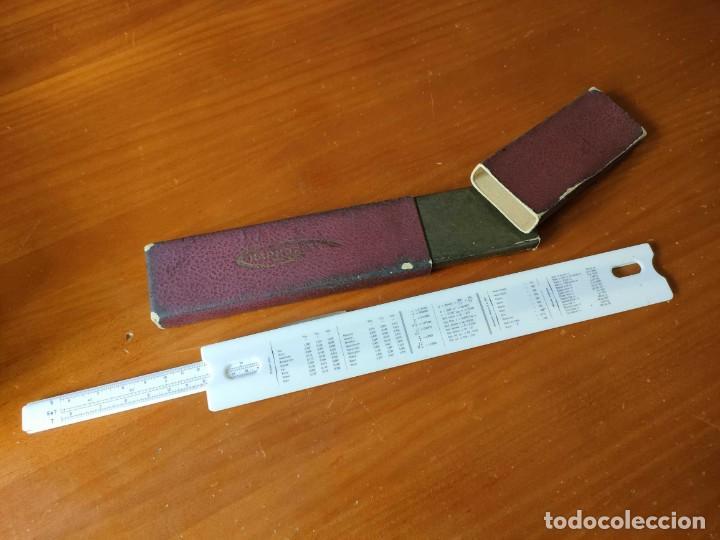 Antigüedades: REGLA DE CALCULO GRAPHOPLEX CON SU ESTUCHE - RAHPOPLEX CALCULADORA MADE IN FRANCE REGLE A CALCUL SLI - Foto 65 - 289848298