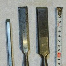 Antigüedades: FORMONES O CINCELES ANTIGUOS. Lote 290006878