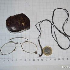 Antigüedades: VINTAGE - ANTIGUAS Y RARAS GAFAS / LENTES FLEXIBLES - CON FUNDA ORIGINAL ¡MIRA FOTOS/DETALLES!. Lote 290091033