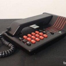 Teléfonos: ANTIGUO TELÉFONO TELYCO ROJO Y NEGRO DE LOS AÑOS 90. FUNCIONANDO. VINTAGE. Lote 290114598