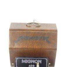 Antigüedades: MAQUINA DE ESCRIBIR MIGNON Nº4 AÑO 1924 TYPEWRITER SCHREIBMASCHINE A ECRIRE. Lote 290997053