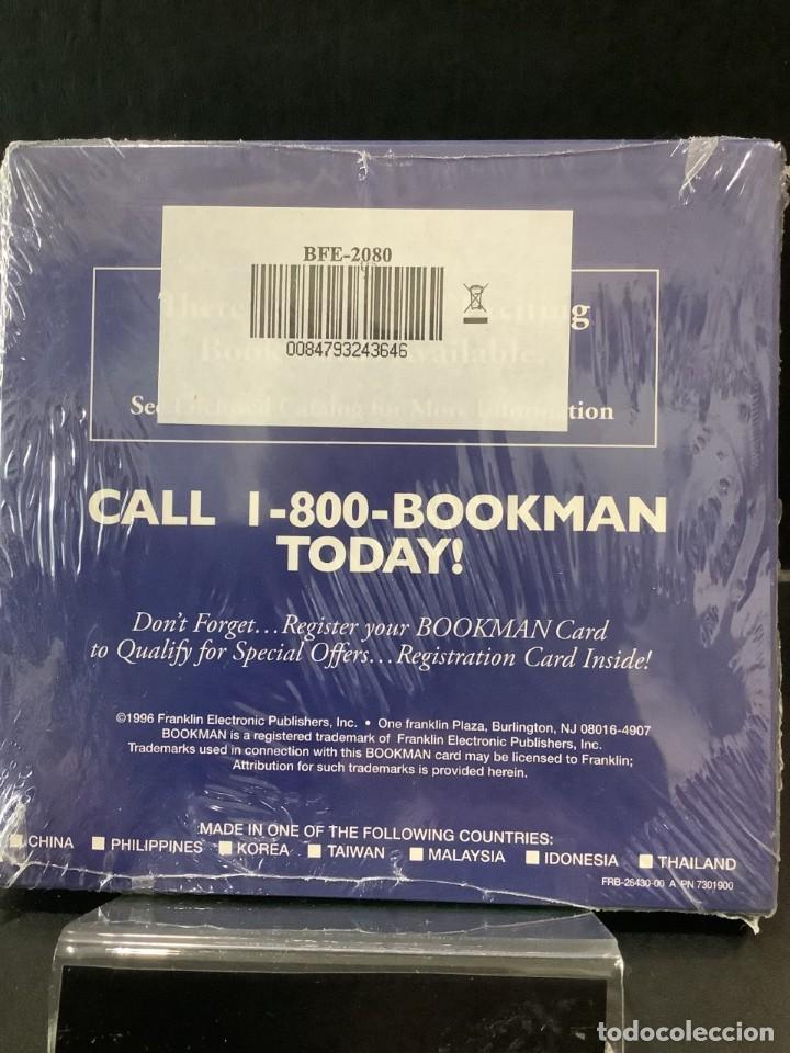 Antigüedades: TRADUCTOR FRANKLIN BOOKMAN BFE 2080 ESPAÑOL {{ }} FRANCES ¡ NUEVO ! DICCIONARIO - Foto 2 - 269294738