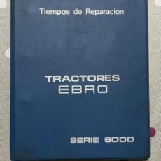 Antigüedades: ANTIGUO LIBRO MANUAL DE REPARACIÓN DE TIEMPOS DE REPARACIÓN - SERIE 6000. Lote 292411888
