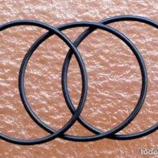 Antigüedades: 3 POLEAS DE TRANSMISIÓN PARA PROYECTOR DE CINE BOLEX PAILLARD 18.5 Y 18.5L. Lote 292571238