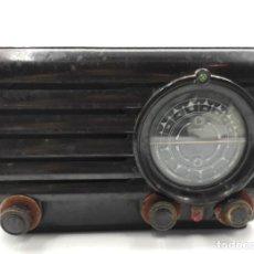 Antigüedades: RADIO EN BAQUELITA, DE LOS AÑOS 60.. Lote 293434748