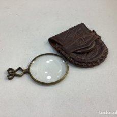Antigüedades: ANTIGUA LUPA AUMENTO DE BOLSILLO. Lote 293549803
