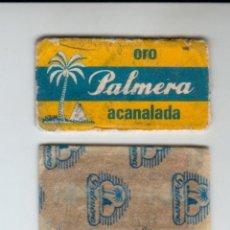 Antigüedades: PALMERA ORO, ACANALADA - ANTIGUA HOJA DE AFEITAR. Lote 293579753