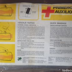 Antigüedades: MALETIN DE ENFERMERÍA. VENDAJE RAPIDO CON 6 ACCESORIOS. Lote 293828888