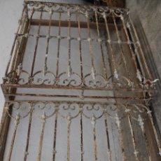 Antigüedades: ANTIGUA REJA BALCON CERRADO. Lote 294118488