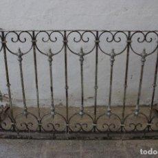 Antigüedades: ANTIGUA REJA BALCON HIERRO DE FORJA. Lote 294119813