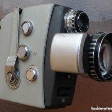 Antigüedades: VINTAGE GERMANY AGFA MOVEX REFLEX 8MM CINE DOBLE 8 MM.ZOOM SCHNEIDER 7,5 37,5 F/ 1,8. Lote 294151903
