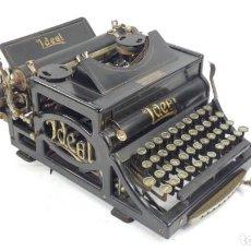 Antigüedades: ANTIGUA MAQUINA DE ESCRIBIR IDEAL A3 AÑO 1907 TYPEWRITER SCHREIBMASCHINE. Lote 294446588