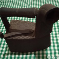 Antigüedades: PLANCHA DE CARBÓN COLECCIÓN. Lote 294504458