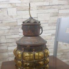 Antigüedades: LINTERNA NAUTICA. Lote 295474528