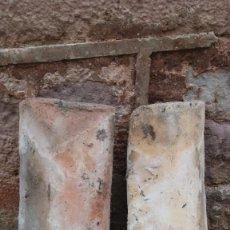 Antigüedades: LOTE DE UNAS MIL TEJAS ÁRABES. Lote 295483638