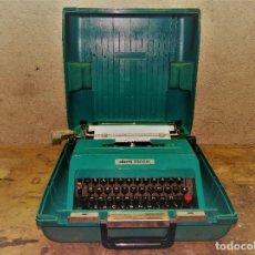 Antigüedades: OLIVETTI STUDIO 45 CON MALETA. Lote 295508983