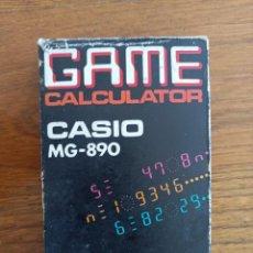 Antigüedades: RARE CASIO MG-890 GAME CALCULATOR. Lote 295638058