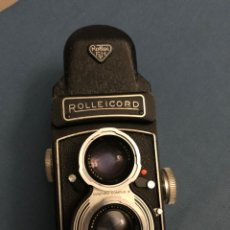 Antigüedades: ROLLEIFLEX ROLLEICORD VB CON PRISM FINDER. Lote 295732193