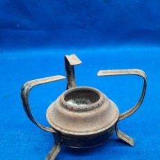 Antigüedades: PEQUEÑO QUEMADOR DE ALCOHOL ANTIGUO. Lote 295736513